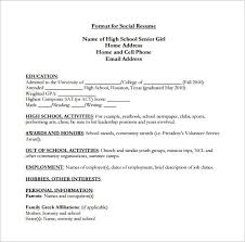 resume sles for high students pdf list high on resume best resume collection
