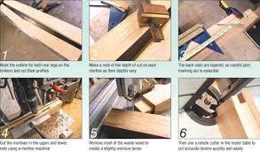 Bench Mortise Machine Oriental Style Bench Woodwork