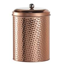 Copper Kitchen Canisters Global Amici Mauritius Round Canister Large Save 54