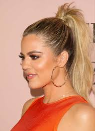 ponytail hair how to get khloe s picture ponytail
