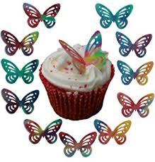 Edible Eyes Cake Decorating 36 Edible Wafer Cartoon Eyes Amazon Co Uk Kitchen U0026 Home