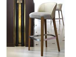 Counter Bar Stools Kitchen Accessories Calvin White Wood Bar Stools In Modern Design