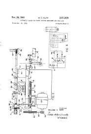 patent us3111876 automatic gauge for paper cutting machines and