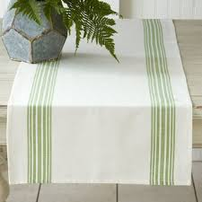 green table runners you u0027ll love wayfair