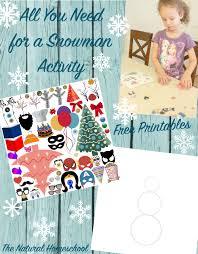 printable activities children s books printable snowman patterns children s books activity the