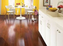 laminate wood floors for contemporary kitchen design
