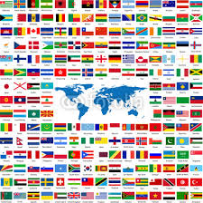 inkshuffle flags from all the world