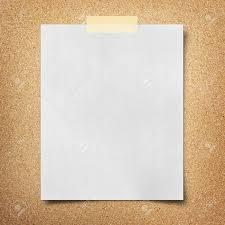 note paper on cork board background stock photo picture and