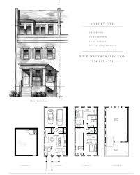 floor 3 story floor plans