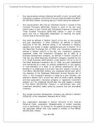 private placement memorandum template eliolera com