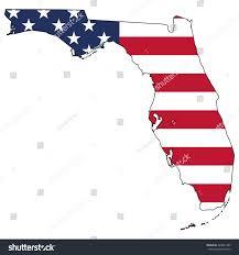 Us Flag Facts Vector Map Us Flag Inside Florida Stock Vektorgrafik 440831389