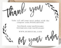 business thank you cards instant business thank you cards editable pdf printable