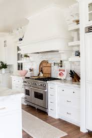 Open Kitchen Cabinets Friday Favorites Kitchens White Marble Kitchen And White Marble