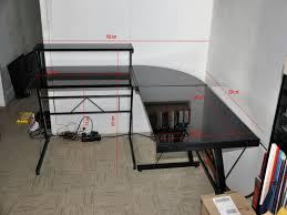 bureau angle verre noir bureau angle verre noir 100 images meubles bureau tables de