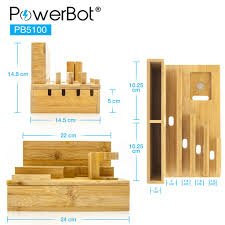 powerbot pb5100 40watt 8amp 5 port rapid universal charging