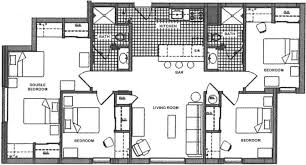 Trump Tower Floor Plans by Campus Tower Penn State Apartments On Beaver Avenue
