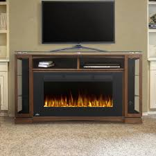 napoleon shelton 60 inch electric fireplace media console