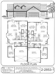 good single family main level floor plans which could be split or