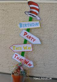 dr seuss party decorations dr seuss birthday party ideas decorations and