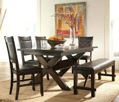 black dining table bench contemporary dining room sets with benches dining room elegant black