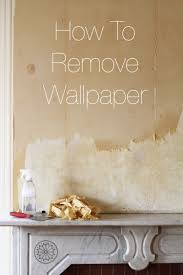 Affordable Temporary Wallpaper How To Remove Wallpaper Apartment Therapy