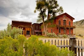 abandoned montana gold rush towns sit in all their ghostly glory