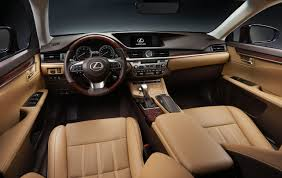 lexus jeep 2016 inside face lifted 2016 lexus es hones in its style preview the fast