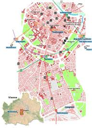 map of vienna large vienna maps for free and print high resolution