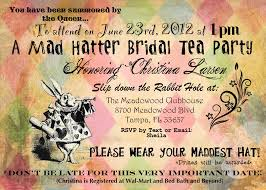 mad hatter tea party bridal shower invitations cimvitation