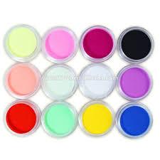 yimart 12 color nail art carving powder gel nails acrylic polymer