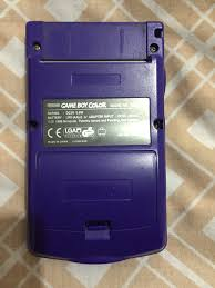 Gameboy Color Grape Club Retro Gamer Gameboy Color