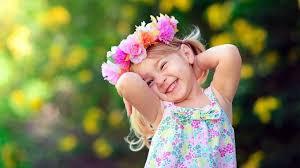 Free photo of Cute Small Girl Smile Wallpaper  StockKite