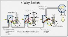 4 way switch wiring diagram полезняшки pinterest lights
