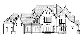 Castle Style Floor Plans by English Manor Style House Plans