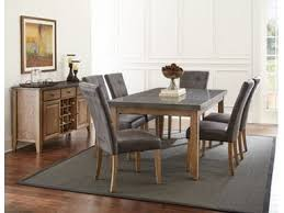 Steve Silver Dining Room Furniture Steve Silver Dining Room Debby Dining Table And Six Chairs