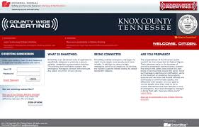 Kgis Maps Alerts Emergency Notification System Knox County Tennessee