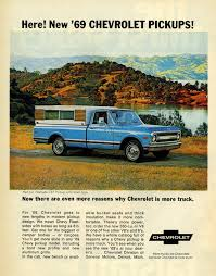 Oldride Classic Trucks Chevrolet - 1969 chevrolet half ton cst pickup advertisement photo picture