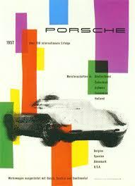 porsche poster vintage the 356