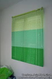Room Darkening Vinyl Mini Blinds Window Blinds Green Window Blinds Room Darkening Vinyl Mini