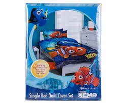 catch com au finding nemo single quilt cover set multi