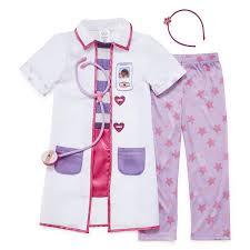 doc mcstuffins costume disney doc mcstuffins dress up costume 2 8 jcpenney