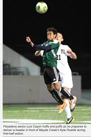 mayde creek high school yearbook boys soccer eagles impressive in pasadena cup conquest p