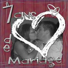 7 ans de mariage 7 ans de mariage le de