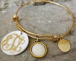 monogramed jewelry monogrammed bead bracelet monogrammed bracelet monogrammed