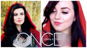 Little Red Riding Hood Makeup For Halloween by Once Upon A Time Makeup Series Ruby Red Riding Hood Youtube