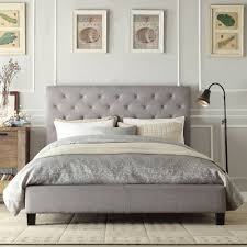 awesome tufted king bed frame the tufted king bed frame u2013 modern