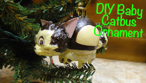 diy baby catbus ornament youtube