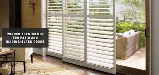 blinds shades u0026 shutters for sliding glass doors distinctive