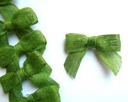 green bows etsy