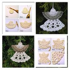 wonderful diy crochet ornaments with free pattern